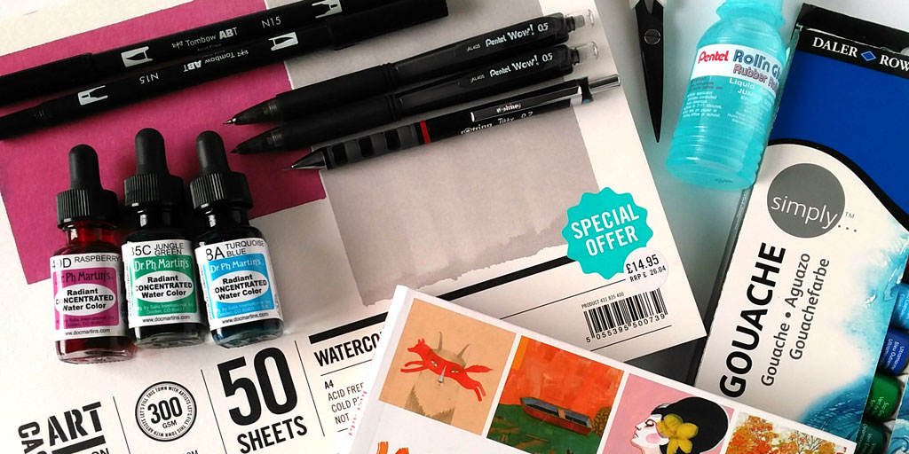 An Art Supply Haul