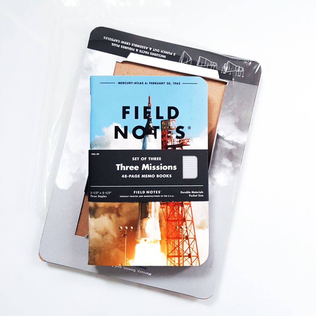 Field Notes Three Missions memo set