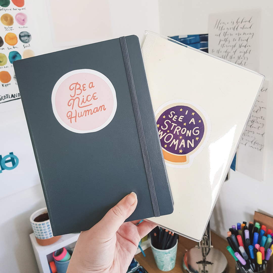 Migrating into a new bullet journal.